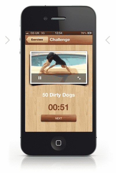500 Bodyweight App