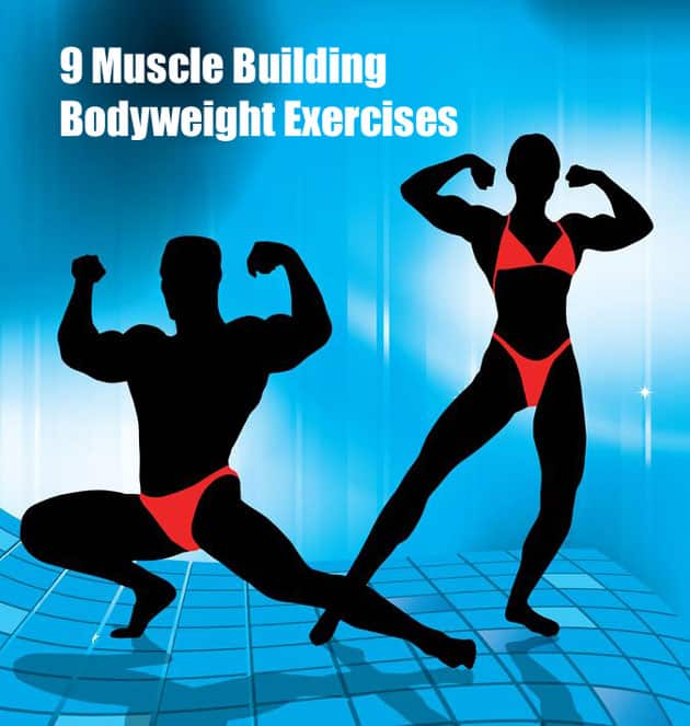 9 muscle building bodyweight exercises