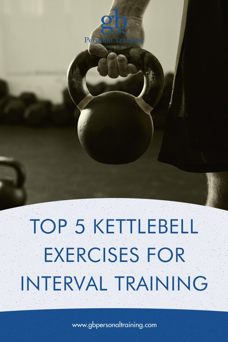 top 5 kettlebell exercises for interval training