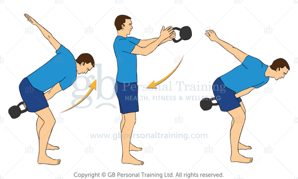 Kettlebell Alternating Swing