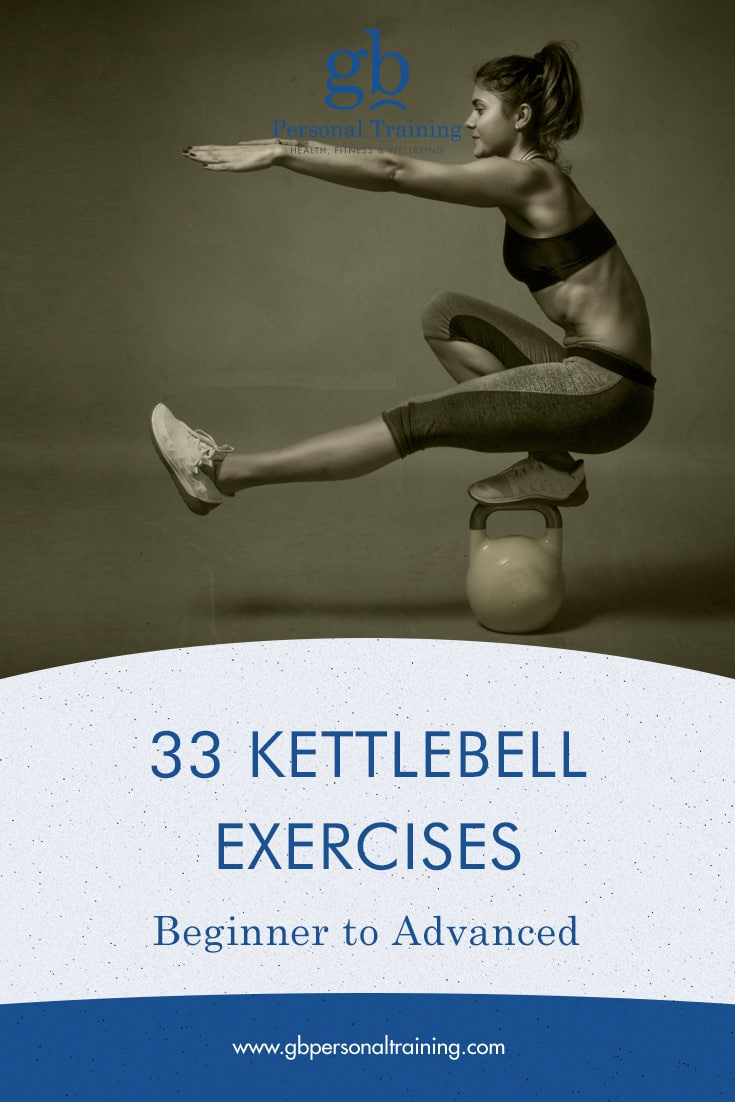 33 Kettlebell Exercises from Beginner to Advanced