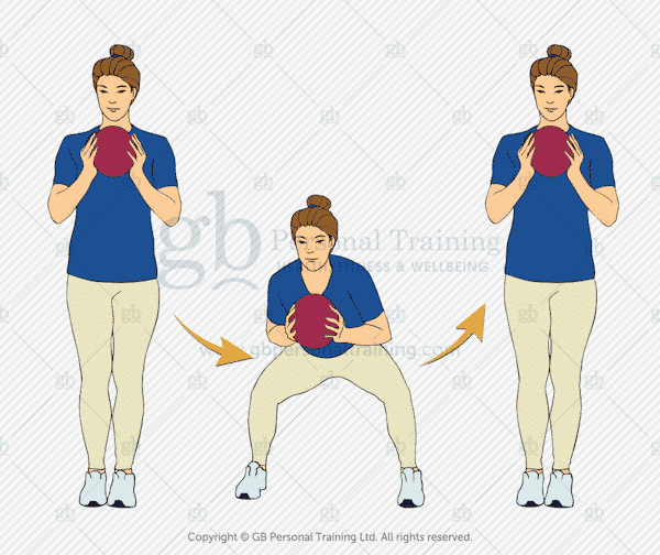 Medicine Ball Bob and Weave Exercise