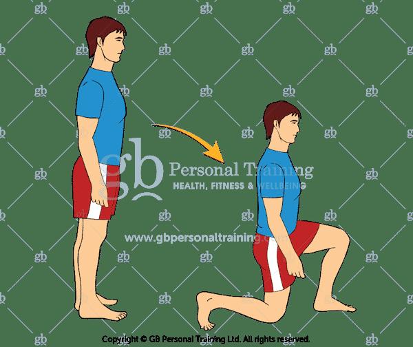Bodyweight Forward Lunges