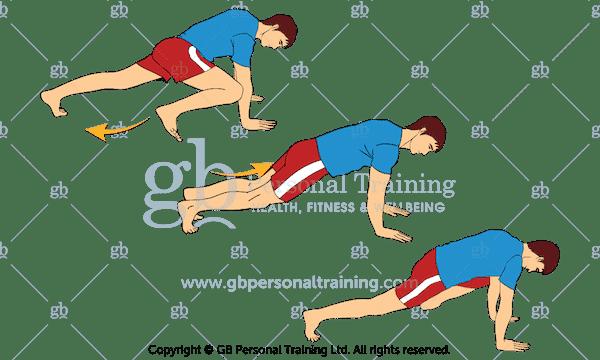 Slow Mountain Climbers Core Exercise