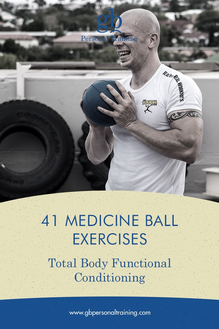 Medicine Ball Exercises for Full Body Functional Conditioning