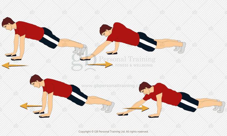 Valslide Arm Slide Outs Exercise